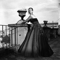 Dorian Leigh, Rome 1952