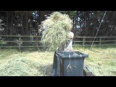 Mini Baler baling yard clippings from FarmShow magazine - YouTube