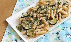 Roasted Zucchini Pasta