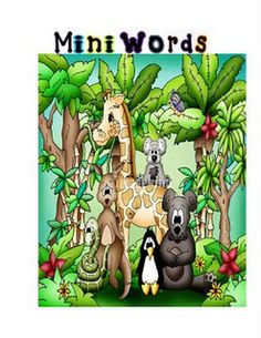 Mini-Words Hunt - make my own for sight words; use magnifying glass to search for words