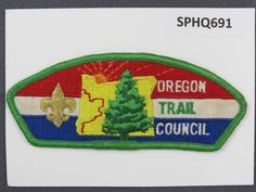 Old North State Council NC White Border Plastic Backing FDL CSP ## CSP992