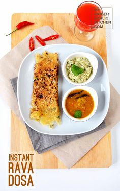 Instant Rava dosa is a very famous south Indian crepe recipe. Instant Rava Dosa is prepared with semolina, rice flour, all-purpose flour.