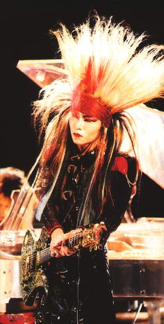 hide Matsumoto, earlier X-Japan, c 1989