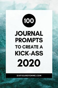 Are you ready to make 2020 your year? Use these 100 journal prompts to make this year your most badass year yet! Journal Prompts, Writing Prompts, Journal Ideas, Journals, Thing 1, Journal Template, Keeping A Journal, Toxic Relationships, I Feel Good