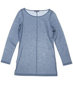 753434f026cbb ça va de soi - GIANNA women s pacific blue egyptian featherweight cotton  t-shirt