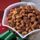 Sugar 'n' Spice Nuts ... cashews, pecans, peanuts, cranberries, br sugar, cinnamon, cayenne pepper, egg white