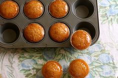 Crispy bacon maple syrup pancake muffins?  Why sure.  by joy the baker