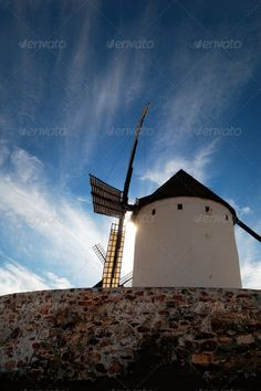 Historical Spanish windmill - PhotoDune Item for Sale