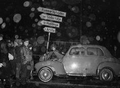 Trafikolycka, Skanstull 1952
