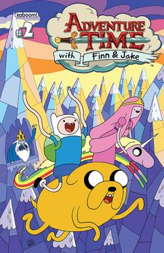 Adventure Time Comic #2 cover