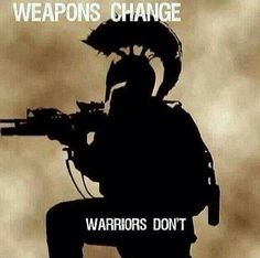 Warriors don't change