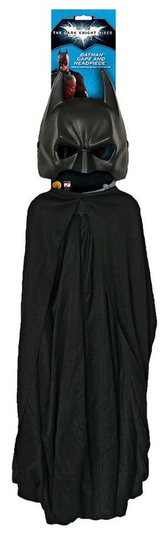 Dark Knight Rises: Batman Cape and Mask Adult Set #Rubies