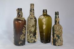 Image result for glass bottle barnacle