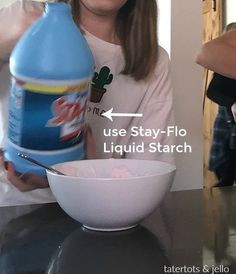 Make safe puffy slime. All it takes is THREE ingredients and it provides hours of entertainment for your kids. Here are the instructions and tips! Fun Activities For Kids, Fun Crafts For Kids, Diy For Kids, Cool Kids, Kids Fun, Preschool Activities, Puffy Slime Recipe, Cool Slime Recipes, Tie Dye Kit
