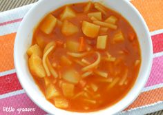 Another good recipe for fussy eaters and baby led weaning. My son is fussy about quite a lot of veg, but with this soup the majority of it is hidden so with a nice crusty roll he will eat this. For...