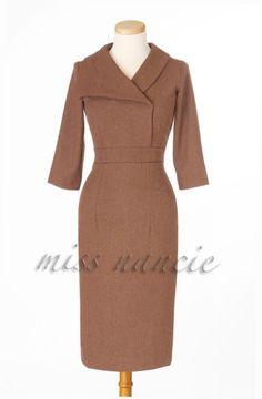Pencil dress Mad men Reproduction Joan dress wiggle