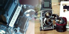Mamiya C33 met 80mm 2.8 Blue Dot en 65mm 3.5 | Middenformaat 6x6