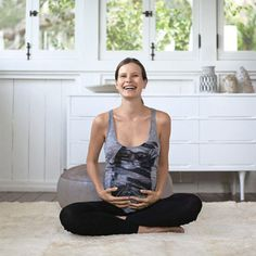 Strengthen your abs and pelvic floor now for an easier delivery and a lower risk of incontinence later.