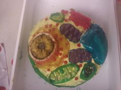 Cell science project cake diy science class