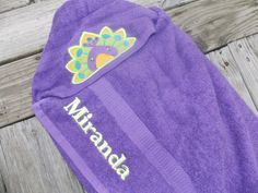 Personalized baby towel monogrammed hooded bath towel peacock hooded towel kids hooded towel infant hooded towel personalized birthday gift peacock decor monogrammed towel baby shower gift negle Choice Image