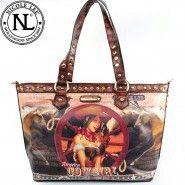 Nicole Lee western purse