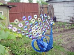Creative Ways to Repurpose Old Tire into Animal Shaped Garden Decor