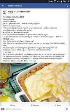 Hot Dog Recipes, Tart Recipes, Cheesecake Recipes, Sweet Recipes, Baking Recipes, Dessert Recipes, Desserts, Kos, Pineapple Tart