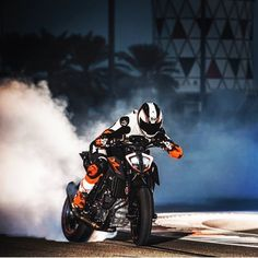 ... with a burnout into the darkness...  @sportridermag @instagram we're RIDA  #pinterest