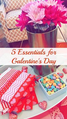 5 Essentials for Galentine's Day. Valentine's Day brunch. Leslie Knope style.