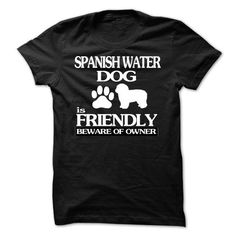Awesome Tee Spanish Water Dog T shirts