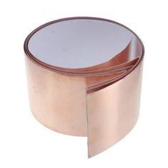 Description: Brand new and high quality. Copper foil shielding tape with single-sided conductive adhesive.   No soldering required.   50mm (1.97 inches) by 1 feet. Product Usage:Shielding Cavities The back of guitar pickguards. Eliminates electrical hum and noise. Slug & snail...