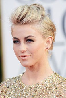 updo hairstyles | ... updo julianne hough paired her high volume punk princess updo with a