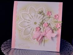 Blooming Vine and Doily by jasonw1 - Cards and Paper Crafts at Splitcoaststampers