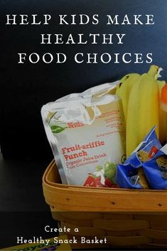 Help Kids Make Healthy Food Choices - Tips that will help and how to create your own healthy snack basket- Plus learn how to save money on healthy snacks at @ALDIUS #ad