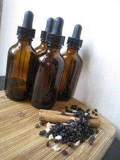 Make Your Own Herbal Elderberry Syrup: A Do It Yourself DIY Herbal Remedy Kit