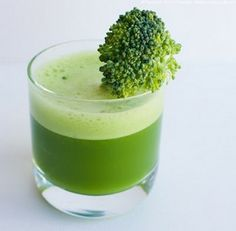 This sweet powerhouse juicing recipe is an amazing health boost. The Broccoli addition to this juice turns it into a super tasty healthy treat for your body.