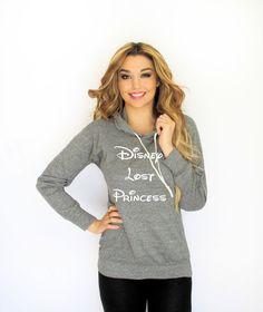 Disney's Lost Princess Light Weight Hoodie
