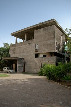 Shodan House - Le Corbusier, 1956  Ahmedabad IN
