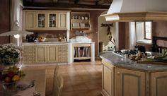 Cucine in muratura rustiche e moderne - Cucina in muratura con pittura bianca