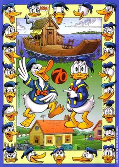 (Drawn by Don Rosa for Picsou Magazine #389)