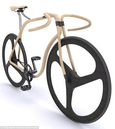 Wooden bycicle