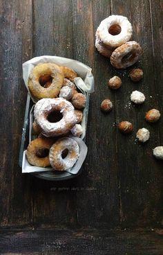 peach + curry buttermilk doughnuts. YUM.