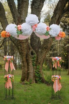 in case we need to do a last minute huppah inside because of bad weather.  love the decor and it's easy to do!