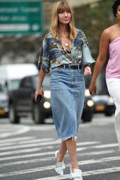 2017年春夏ニューヨーク・ファッション・ウィークから最新のストリート・スナップをお届け。
