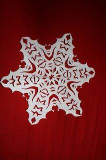 phi sig snowflakes - too cool!