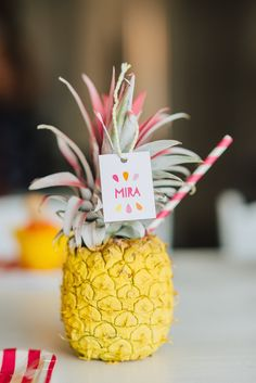 Photography : Redmoose Photography Read More on SMP: http://www.stylemepretty.com/living/2015/01/22/tutti-frutti-kids-birthday-party/