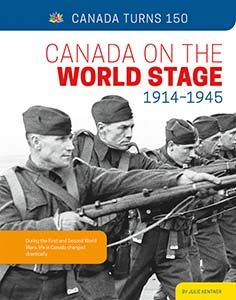 """Canada Plays a Role in World Events -- Building Toward the Future -- Changing Communities -- Crisis in Canada -- Constructing Canada -- Crossing Cultures -- Everyday Entertainment -- Life in the Internment Camps -- Timeline -- Glossary -- To Learn More -- Index/About the Author. """"During the First and Second World Wars, life in Canada changed drastically Challenges And Opportunities, Social Change, Citizenship, Camps, World War Two, Social Studies, Timeline, Plays, Identity"""