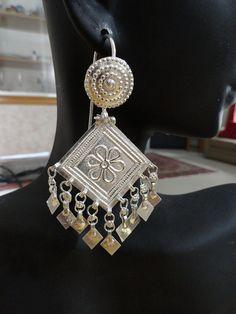 Tribal Kutch Balis  Gujarat Pandadi Earrings by jhumkas on Etsy, $129.00