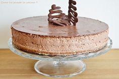 COMO HE PUESTO LA COCINA!!: TARTA MOUSSE DE NUTELLA (Thermomix) Chocolate Nutella, Nutella Mousse, Mousse Cake, Chocolate Desserts, Fun Desserts, Sweet Recipes, Cake Recipes, Dessert Recipes, Sweet Cooking