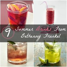 Beat the heat with these 9 Summer Drinks From Bethenny Frankel | Health.com